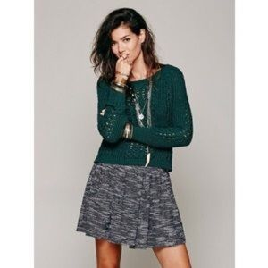 Free People Skirts - 🔸Free People Holly Go Lightly Tweed Mini Skirt